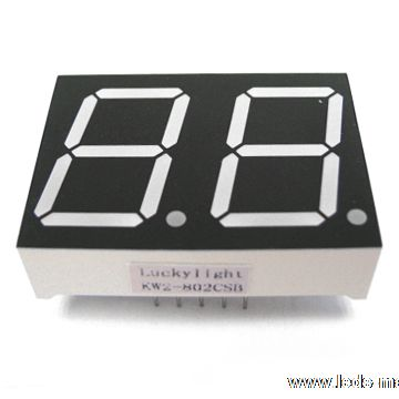 "0.80"" Dual Digit Numeric Displays"