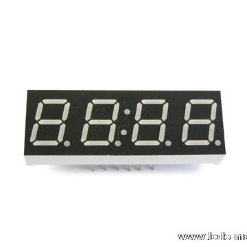 "0.39"" Quadruple Digit Numeric Displays"