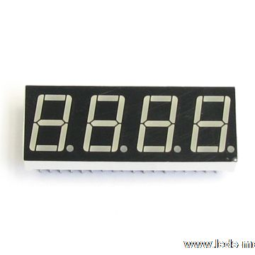 "0.56"" Quadruple Digit Numeric Displays"