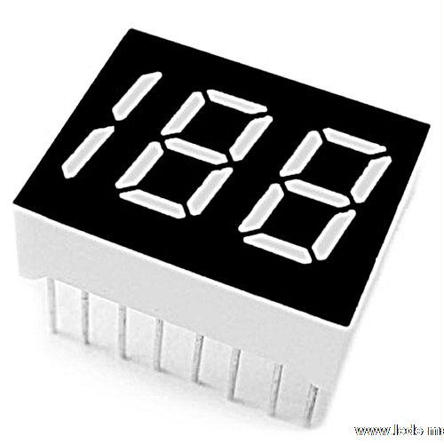 "0.50"" Dual Half Digit Numeric Displays"