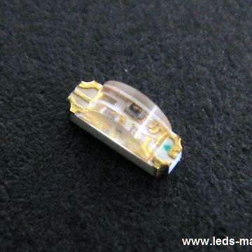 1.50mm Height 1204 Package With Right Angle Lens Full-Color Chip LED