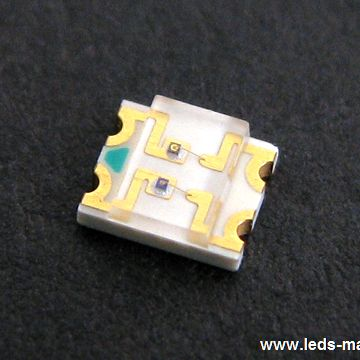 1.10mm Height 1205 Reverse Package Bi-color Chip LED