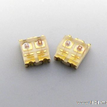 0.75mm Height 0606 Package Bi-color Chip LED